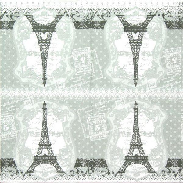 Paper Napkin - Eiffel Tower