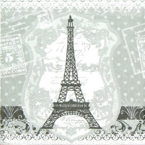 Paper Napkin - Eiffel Tower