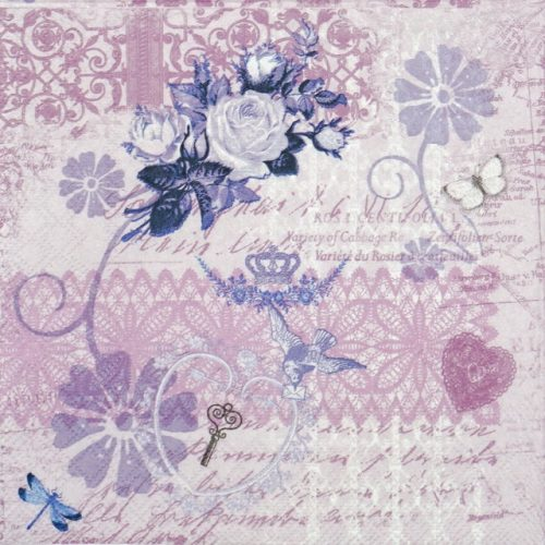 Paper Napkin - Variety Of Cabaret Lila