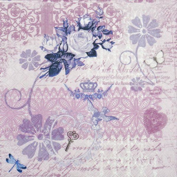 Paper Napkin - Variety Of Cabaret Lila