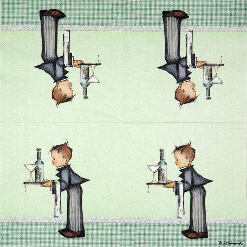Paper Napkin - Hummel: Waiter