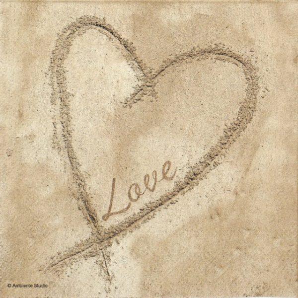 Lunch Napkins (20) - Sandy Love