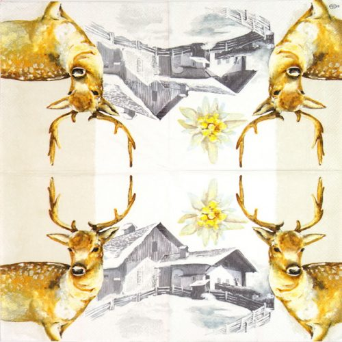 Paper Napkin - Mountain Deer