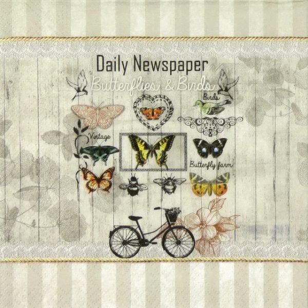 Paper Napkin - Daily Newspaper