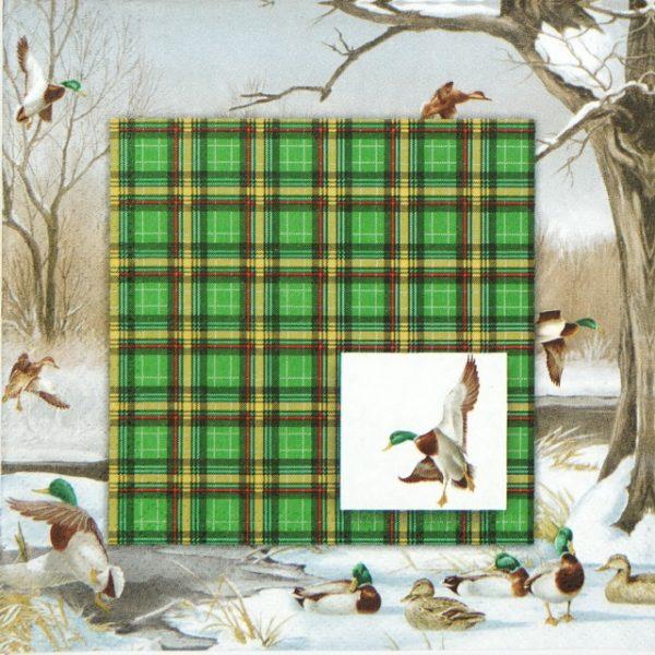 Paper Napkin - Duck Pond