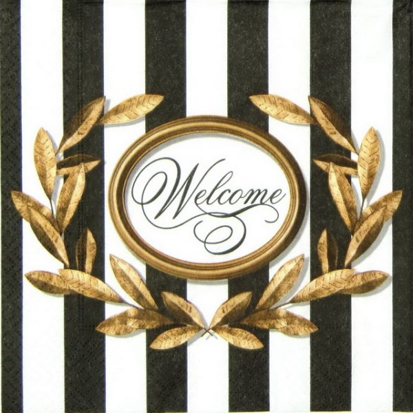 Paper Napkin - Welcome