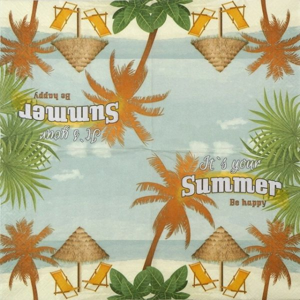 Paper Napkin - It's your Summer