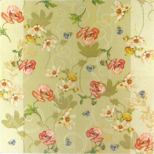 Paper Napkin - Fleurs d'été