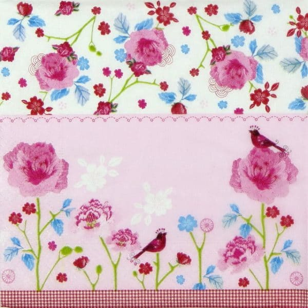 Lunch Napkins (20) - Pink World