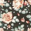 Paper Napkin - Roses Black Color