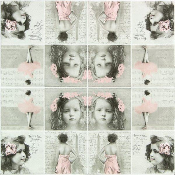 Paper Napkin - Paris