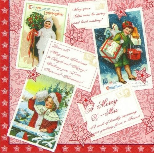 Lunch Napkins (20) - May You Christmas Be Merry