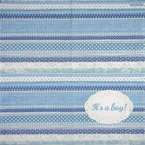 Cocktail Napkin - It's A Boy