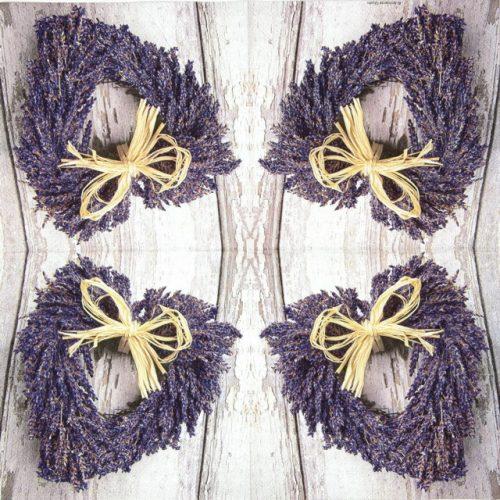 Paper Napkin - Lavender Heart