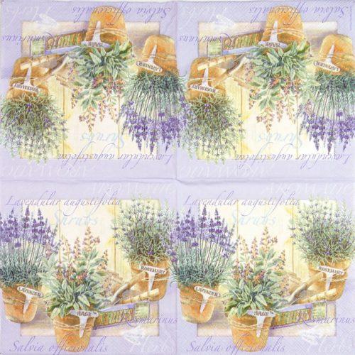 Paper Napkin - Lavendular