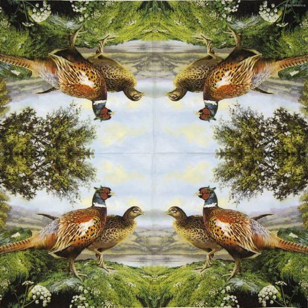 Lunch Napkins (20) - Pheasant