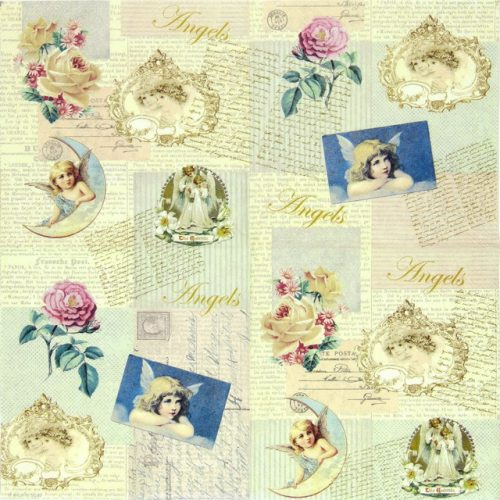 Paper Napkin - Romantic Angels