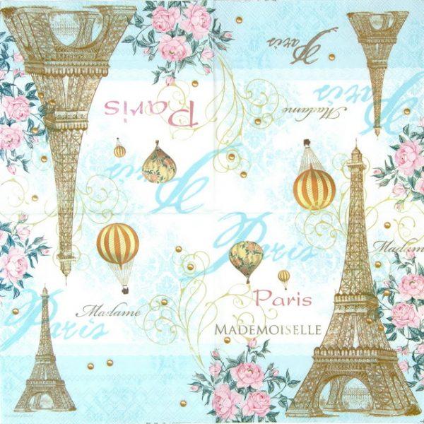 Paper Napkin - Toujours Paris