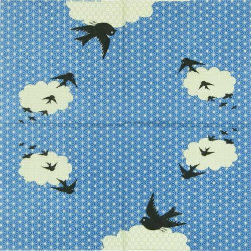 Paper Napkin - Arioso Blue