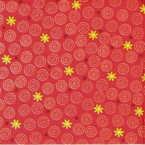 Paper Napkin - Prlude red