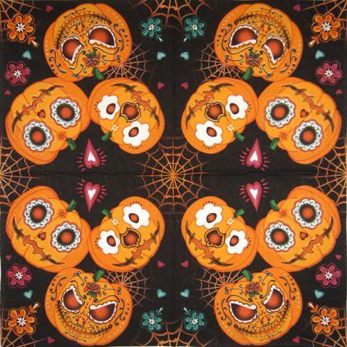 Paper Napkin -  Mexican Pumpkins