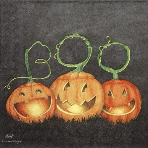Cocktail Napkin - Boo