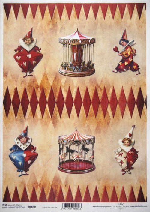 Rice Paper - Circus