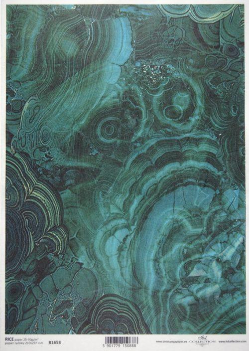 Rice Paper - Emerald Dream