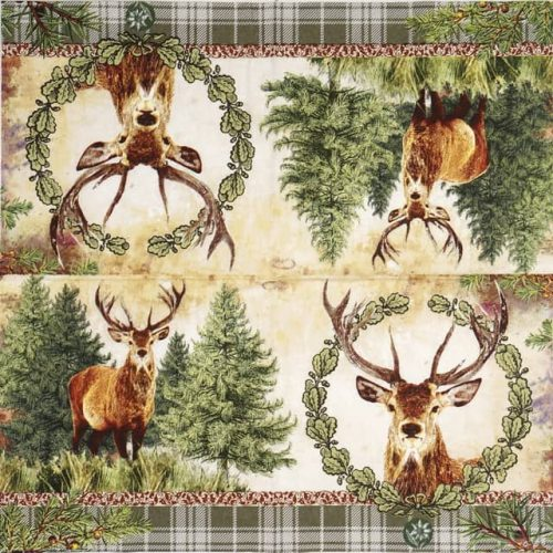Lunch Napkins (20) - Deer Portrait
