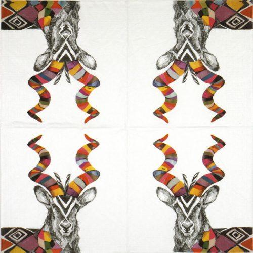 Paper Napkin - Emma Gale: Regalia Kudu