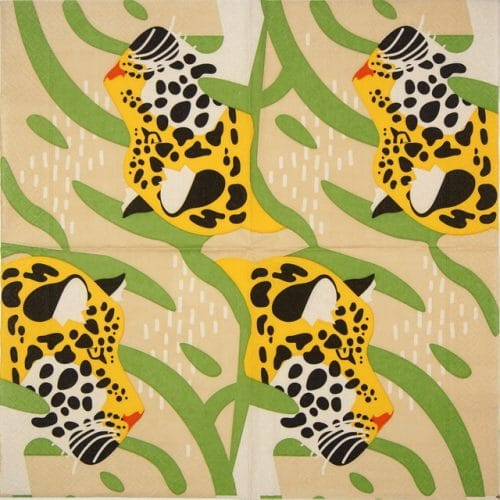 Lunch Napkins (20) - Amur Leopard