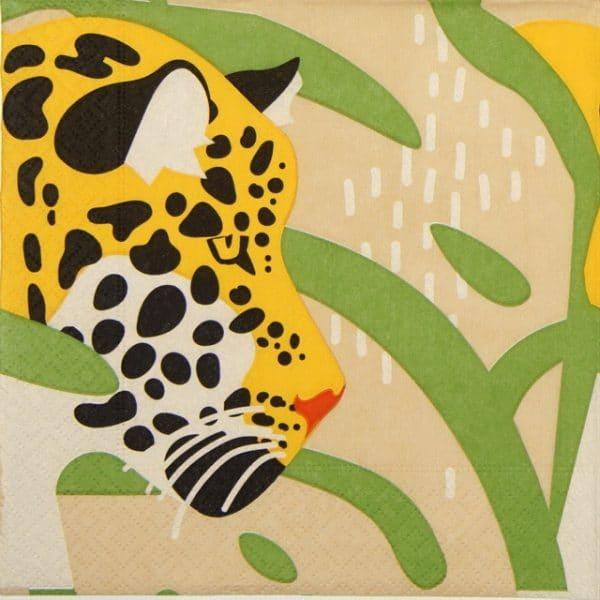 Lunch Napkins (20) - Amur Leopard