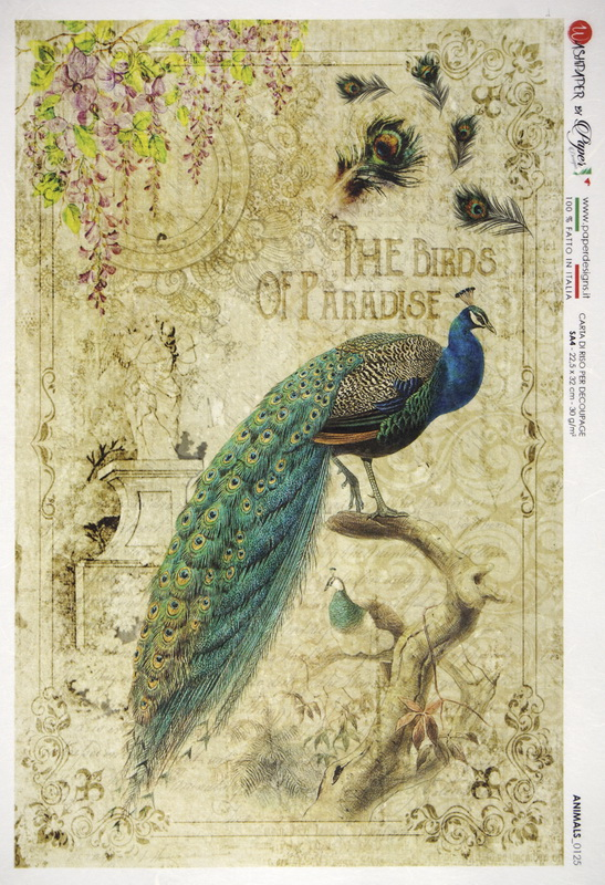 Rice Paper - Peacock