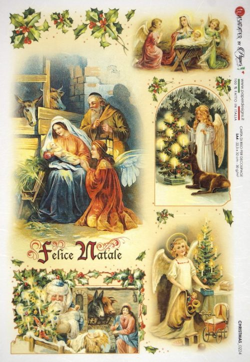 Rice Paper - Holy Family