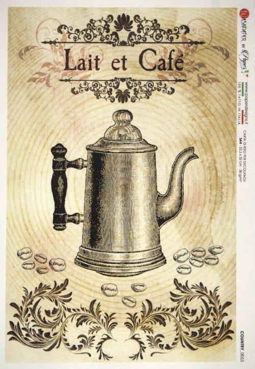 Rice Paper - Lait et Café