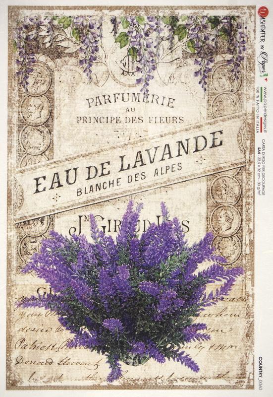 Rice Paper - Eau de Lavande Flower