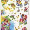 Rice Paper - Fairies Garden Flowers