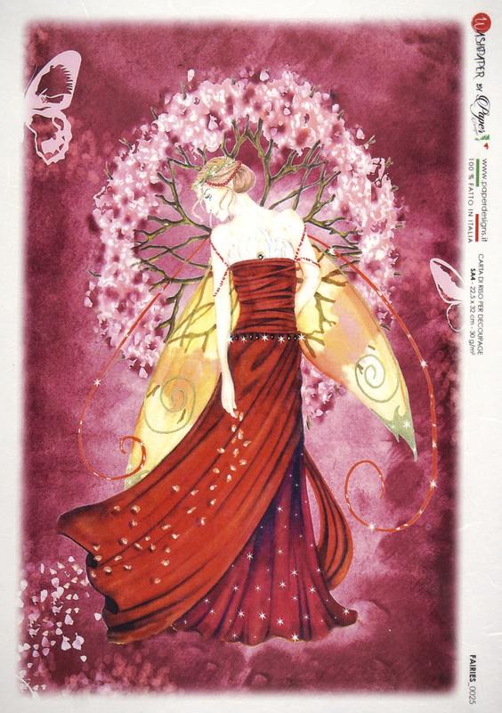 Rice Paper - Fairy Purple