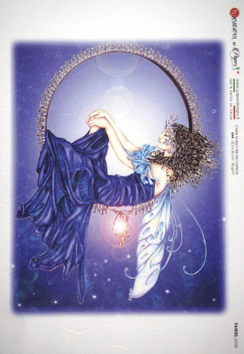 Rice Paper - Fairy Blue