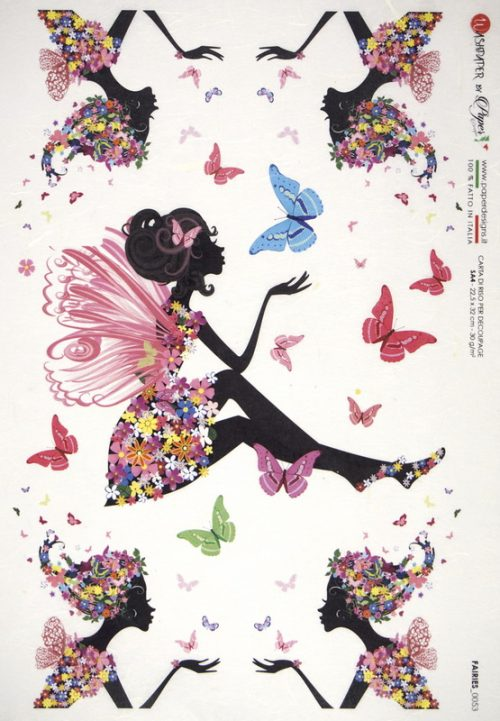 Rice Paper - Fantasy  Flower Fairy