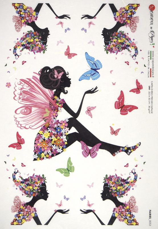 Rice Paper - Fantasy  Flower Fairy