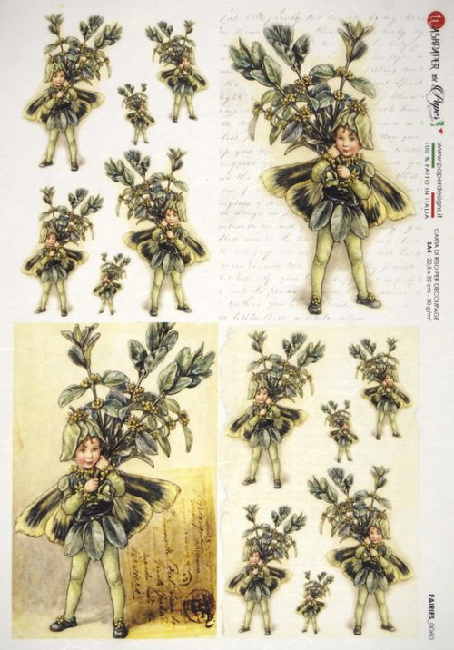 Rice Paper - The Box Tree Fairy