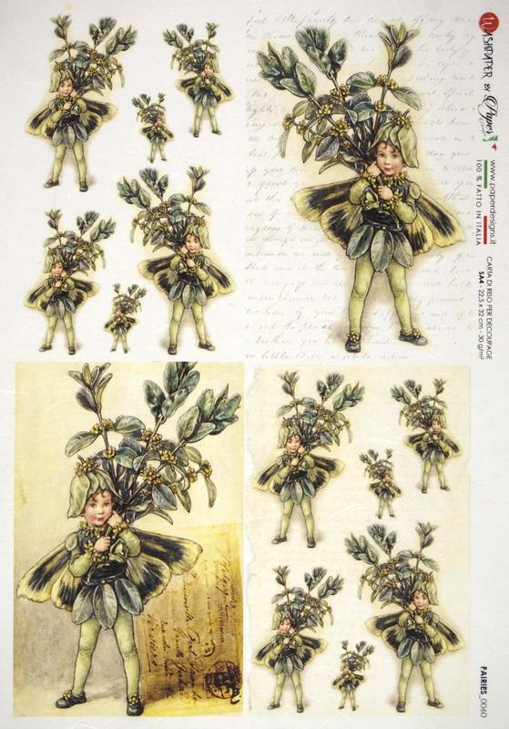 Rice Paper - The Box Tree Fairy
