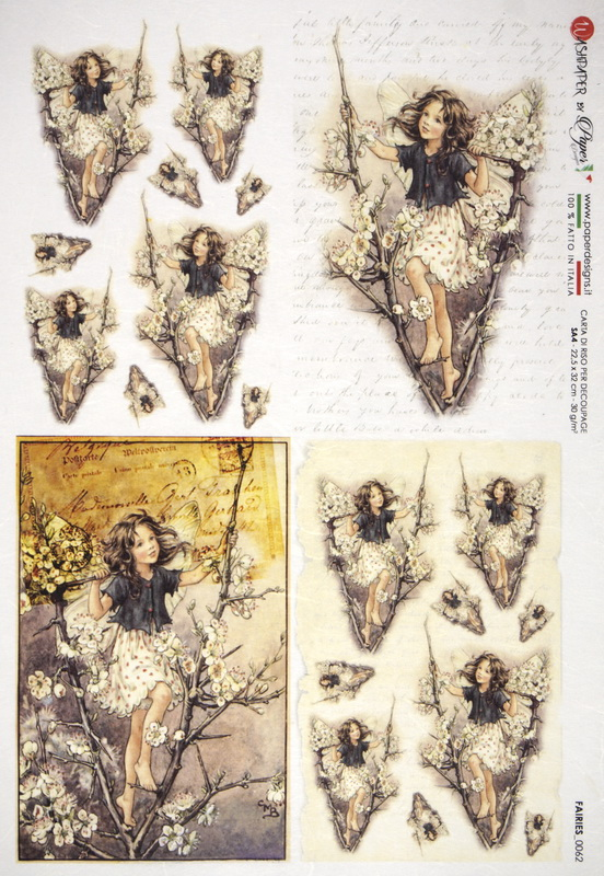 Rice Paper - The Blackthorn Fairy