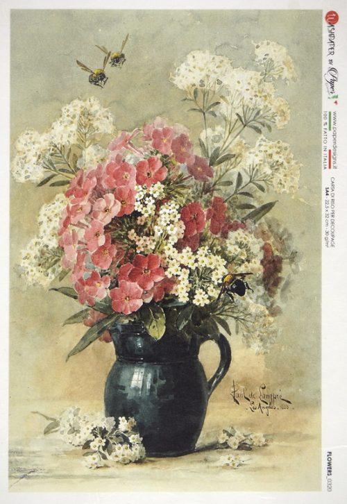 Rice Paper - Flower Still Life