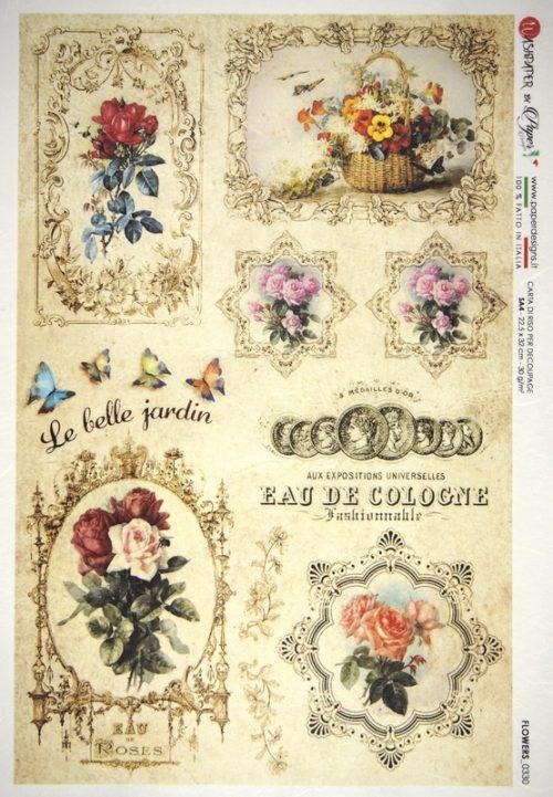 Rice Paper - Le Belle Jardin