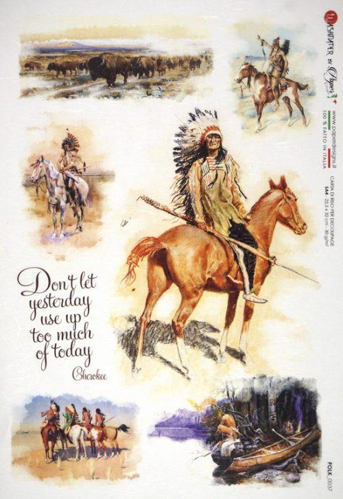 Rice Paper - Cherokee