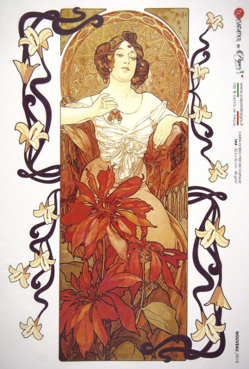 Rice Paper - Mucha: Ruby