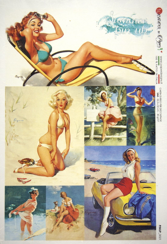 Rice Paper - Pin Up Travel