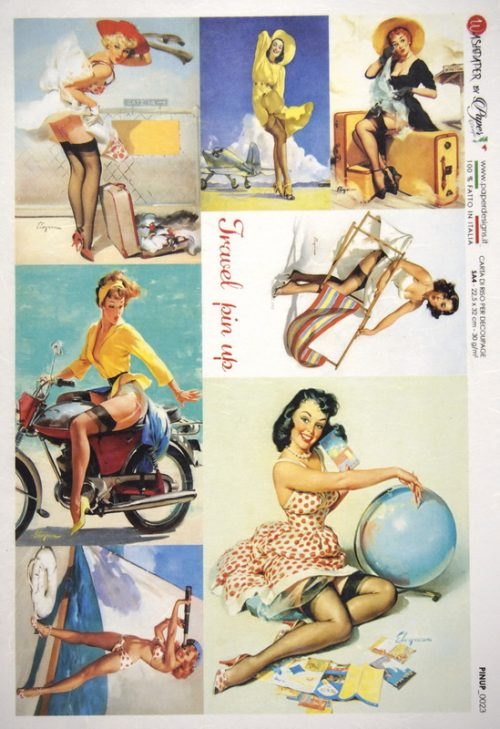 Rice Paper - Pin Up Summer